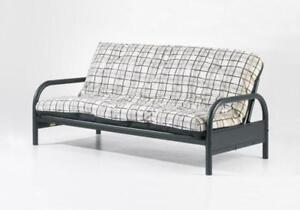 "39"" Arm Futon Frame with or without mattress - Delivery available"