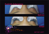 $65 Eyelash Extension (individual lash extensions )