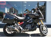 2015 Aprilia Caponord 1200 ABS with EXTRAS at Teasdale Motorcycles, Yorkshire