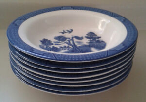 Royal Doulton 1998 Real Old Willow Bowls