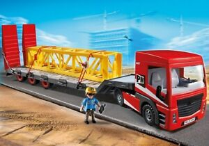 - PLAYMOBIL : Construction, Camion, grue