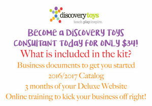 Discovery Toys! Build your Business and Sell Eduational Toys