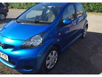 Toyota Aygo Blue 2009/2010 (immaculate condition)