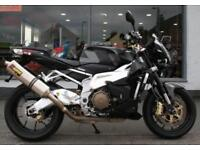2008 Aprilia Tuono 1000 R with EXTRAS at Teasdale Motorcycles, Yorkshire