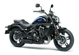 NEW 2021 Kawasaki Vulcan S ABS *Smokey Blue & Black*
