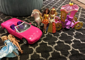 Barbie Lot of Toys