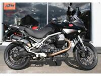 2011 Moto Guzzi Stelvio 1200 8V ABS - Black at Teasdale Motorcycles, Yorkshire