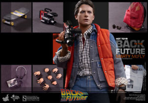BACK TO THE FUTURE Hot Toys 1:6 Marty McFly Action Figure