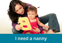 Full-time Nanny for 1 year and new born