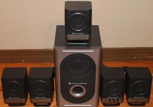 Altec Lansing 5.1 Powered Speaker System