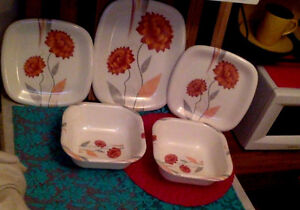 Brand New Melamine Serving Platters and Bowls