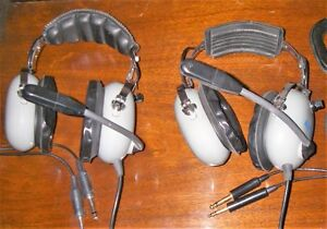AVIATION HEADSETS(2 pairs)