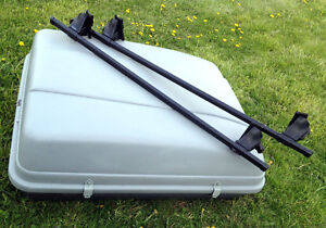 PERFECT Thule Roof Racks & Roof Top Cargo Box SEE VIDEO