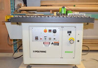 Polymac Contour Edgebander with Polymac Edgebanding Trimmer