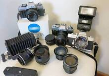 Minolta Cameras & Lenses for M4/3, Sony Nex,Black magic.. South Yarra Stonnington Area Preview