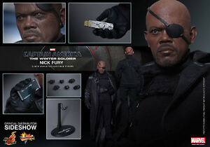 Hot Toys 1/6 NICK FURY Captain America The Winter Soldier New!