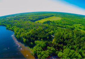 100+ Acres! Backing onto Crown Land.