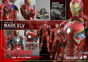 Brand new sealed Hot toys 1/4 mark 45 iron man