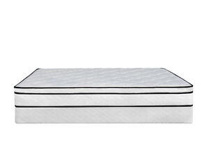 BRAND NEW Queen Euro Top Pillow Mattress & BOXSPRING► FREE SHIP Kitchener / Waterloo Kitchener Area image 4