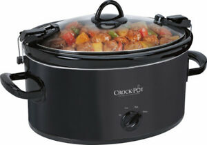 NEW CROCK-POT COOK AND CARRY PORTABLE SLOW COOKER