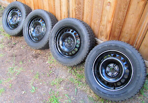 4 Chevy Cruze Tires Mounted on Rims