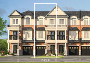 ++BRAND NEW, Never Lived In, 3 Bedroom Townhouse In Waterdown++