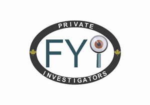 FYI Private Investigators | Surveillance | Backgrounds Kitchener / Waterloo Kitchener Area image 1