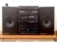 TRIO (KENWOOD) HiFi (Separates) Monitor Audio R252 speakers