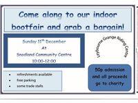 Indoor bootfair 11th December