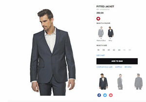 TRISTAN Men Suit Brand NEW