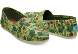 Brand new Tom's Fern/Cactus shoes (vegan)  Size 10