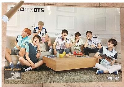 BTS / BANGTAN BOYS [ SMART OFFICIAL NEW POSTER ]  - Poster in Tube