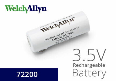 72200 3.5 V Nickel-cadmium Rechargeable Battery Welch Allyn Black Letteringnew