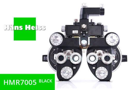 MANUAL REFRACTOR HANS HEISS HMR7005 BLACK +/- Cyl NEW