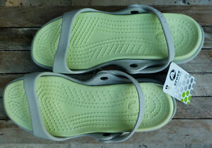 CROCS-Womens-Slip-On-Sandals-Shoes-CLE New Size 9 Ladies