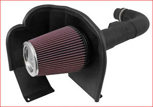 K&N - Air Charger Cold Air Intake Silverado 1500 4.3L 14-15