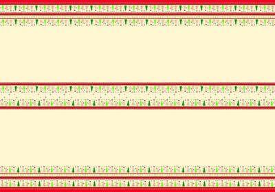 1 Tischdecke Weihnachtsbaum Schneeflocken Wald Bäume 220x138 ()