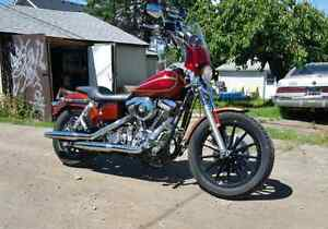 95 dyna superglide club style