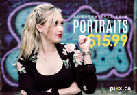 Professional Portraits from $15.99