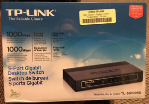 TP-Link 5 Port Gigabit Hub - Unopened