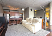 NEW PRICE! 2 Bed Beautiful LOFT in the Byward Market