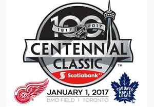 2 centennial classic maple leafs vrs redwings tickets