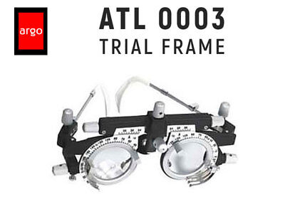Trial Frame Argo Atl0003 Aluminum New