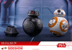 STAR WARS HOT TOYS SIDESHOW figurines BB8, BB9E ET MOUSE DROID