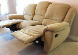3 Seater Recliner Sofa excellent