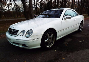Mercedes-Benz CL500 Coupe V8 34,000km
