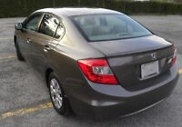 CIVIC LX 2012 NO ACCIDENT ONE OWNER BLUETOOTH CERTIFIED ONLY 61K