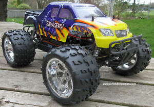 New RC Truck Brushless Electric 1/8 Scale TOP 2 LIPO 4WD RTR Kitchener / Waterloo Kitchener Area image 2
