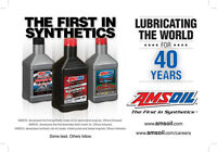 Amsoil Oil & Filters For All Makes & Models