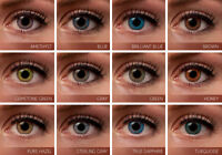 """FRESHLOOK"" contact lenses/verres de contact"